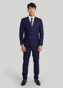 vest suit nam cao cấp 6 cúc